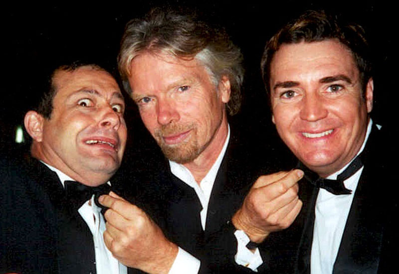 Richard Branson and the Swingin Martinis
